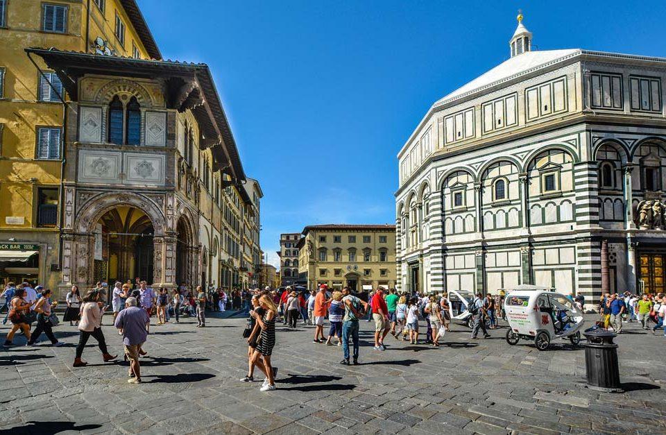 Les cinq quartier les plus fréquentés de Florence