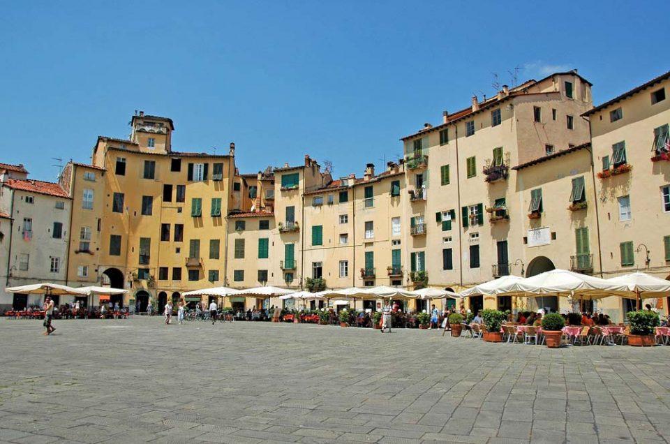 Lucca : Un joyaux urbanistique